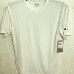 ASICS Men's Ready-Set Short Sleeve Top White 2XS
